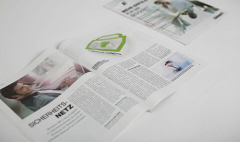 Editorial-Design. Bildkonzepte. Satz. (connect android, Bild 7)
