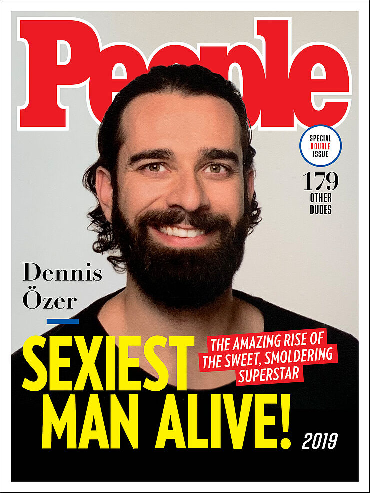 People Magazine – Sexiest Man Alive Cover (Photoshop-Composing)